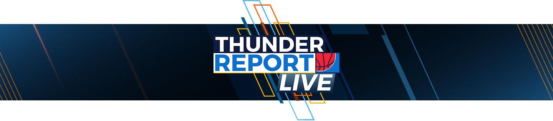 thunder report