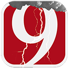 News 9 Weather App Logo