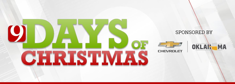 9 Days of Christmas logo