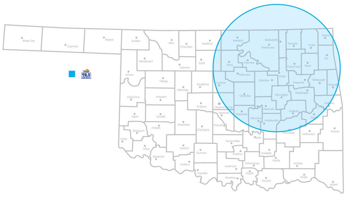 kvoo coverage map
